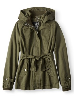 7220ee8ae21ac Product Image Belted Cotton Hooded Anorak Jacket (Little Girls   Big Girls)