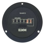 ENM T55A2A Electro-Mechanical Hour Meter,Round