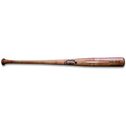 Glomar 141 Model Solid Natural Maple Wood Baseball Bat