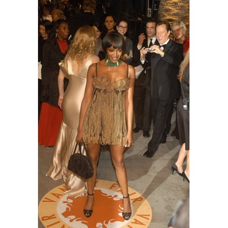 Naomi Campbell At Arrivals For 2007 Vanity Fair Oscar Party Mortons Restaurant Los Angeles Ca February 25 2007 Photo By Tony GonzalezEverett Collection Celebrity - Party Ca