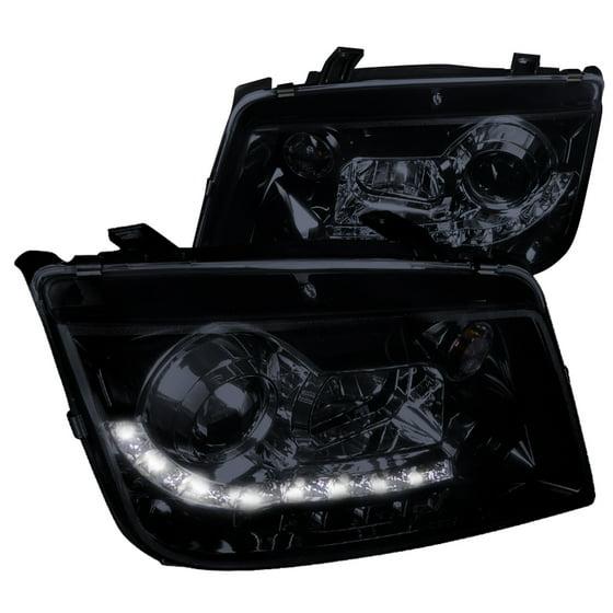 Spec D Tuning 1999 2004 Volkswagen Jetta R8 Led Projector Headlight 2001 2003 99 00 01 02 03 04 Left Right