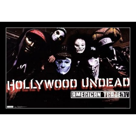 Hollywood Undead - American Tragedy Poster Print - Hollywood Undead Mask