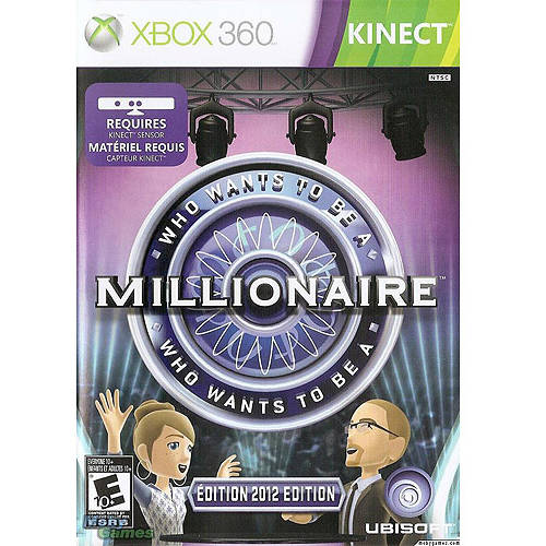 Who Wants To Be A Millionaire? Kinect (Xbox 360) - Pre-Owned