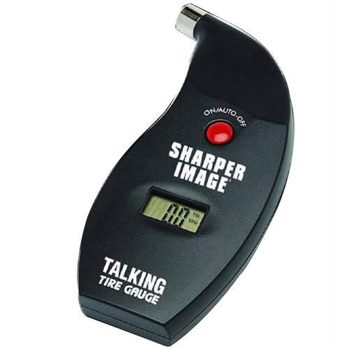 Sharper Image Talking Tire Gauge