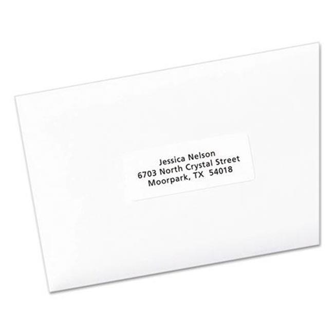 AVE95915 Easy Peel Laser-Inkjet Address Labels, White - image 1 de 1