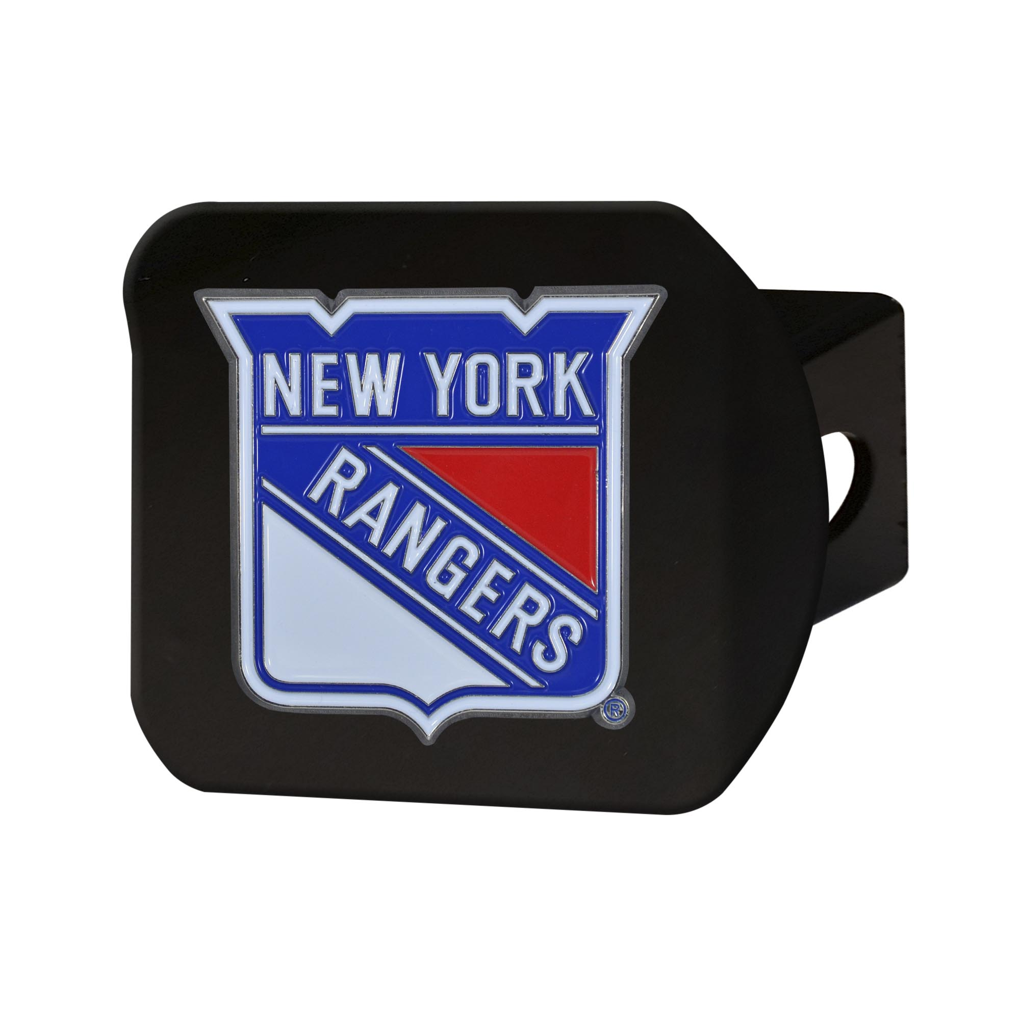 "New York Rangers Color Hitch Black 3.4""x4"""