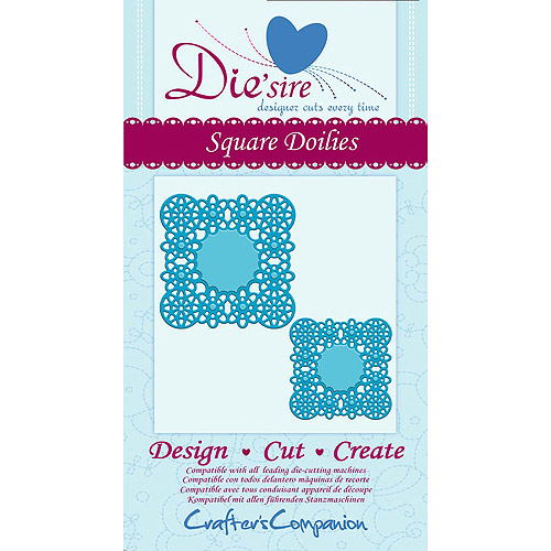 Crafter's Companion Die'sire Cutting Die-Square Doilies