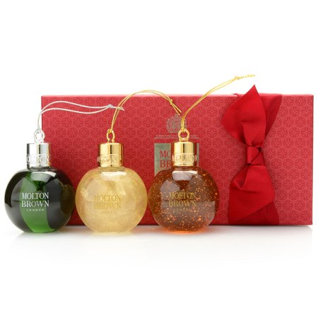 Molton Brown Festive Bauble Body Wash Trio Gift Set 2.5 oz Each C444033