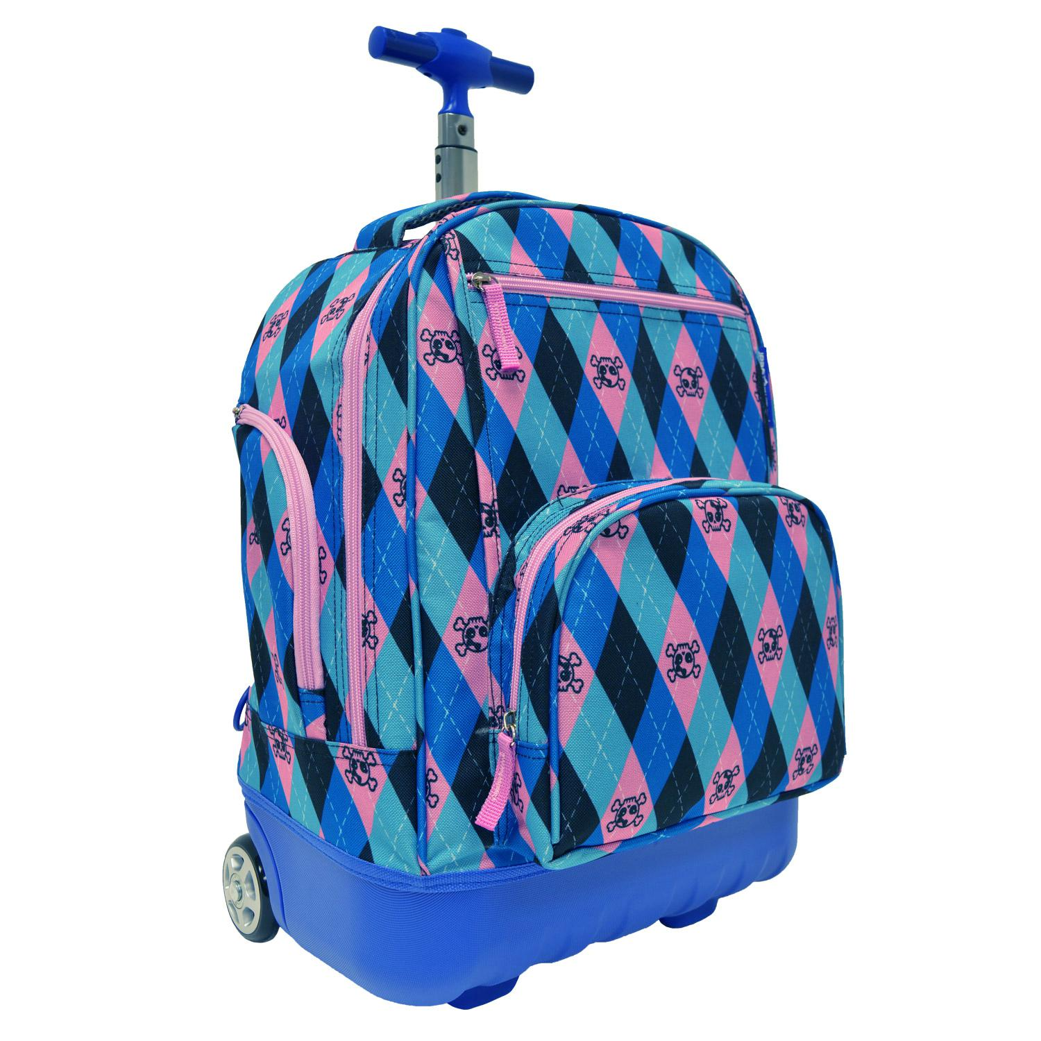 Pacific Gear Treasureland Kids Hybrid Lightweight Rolling Backpack