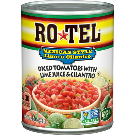 10 Ounce Crewneck Sweatshirt - (6 Pack) RO*TEL Mexican Style Diced Tomatoes with Lime Juice and Cilantro, 10 Ounce
