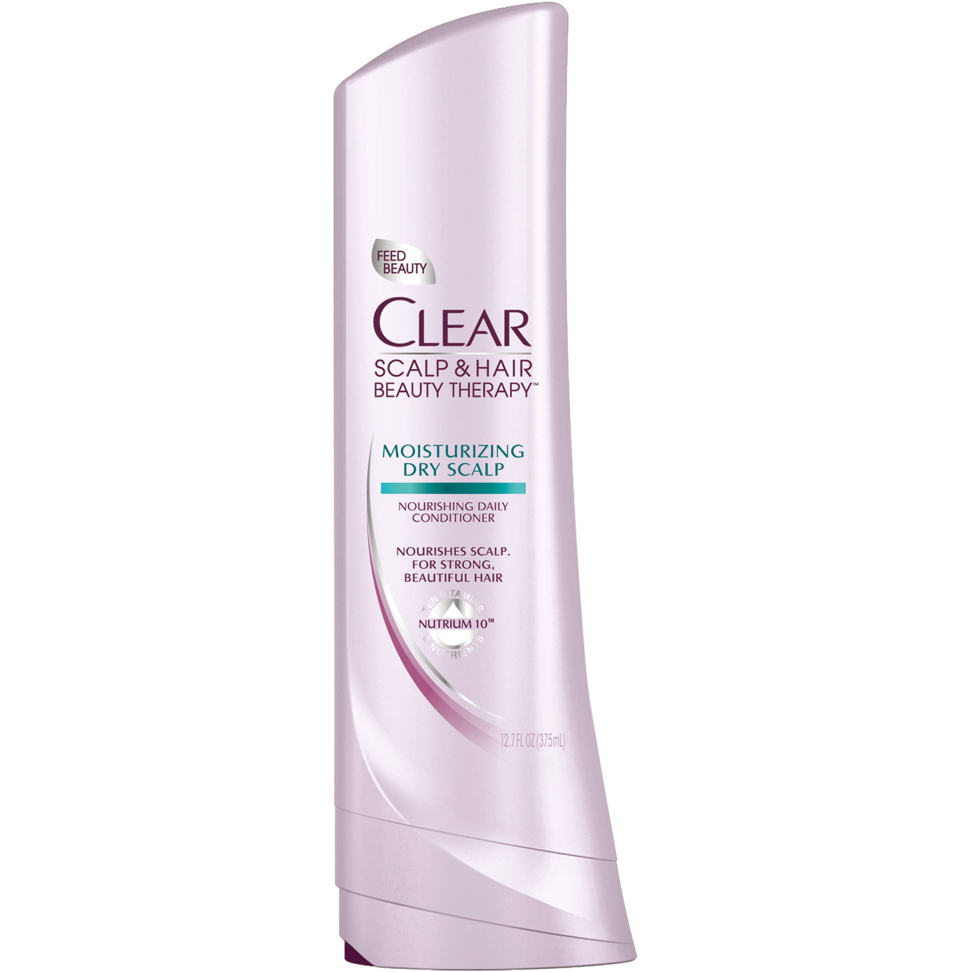 Clear Scalp & Hair Therapy Moisturizing Dry Scalp Nourishing Daily Conditioner, 12.7 oz