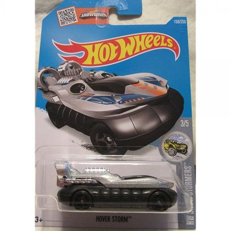 Hot Wheels 2016 HW Snow Stormers Hover Storm (Hover Craft Car) 158/250, Silver