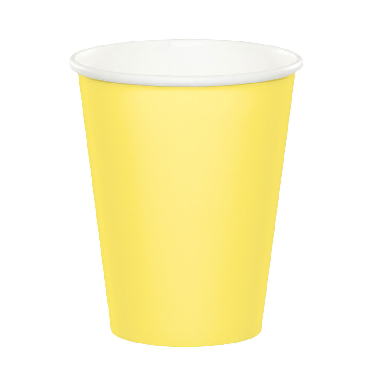 9 oz Hot/Cold Paper Cups Mimosa/Case of 240