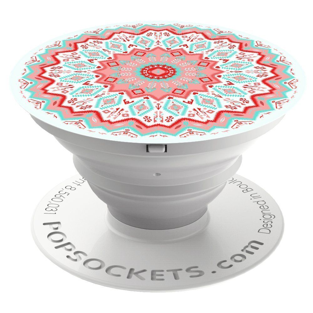 Popsocket Phone Grip & Stand -Aztec Mandala Red - Accessory by PopSockets (101253)