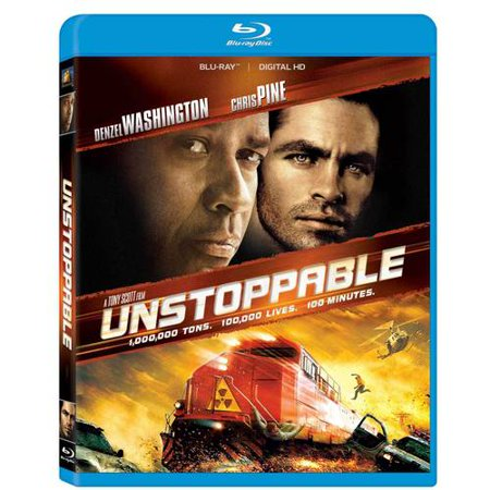 Unstoppable  Blu Ray   Digital Hd   With Instawatch   Widescreen