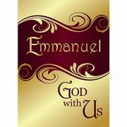 Banner-Christmas-Emmanuel (2' x 3') (Indoor)