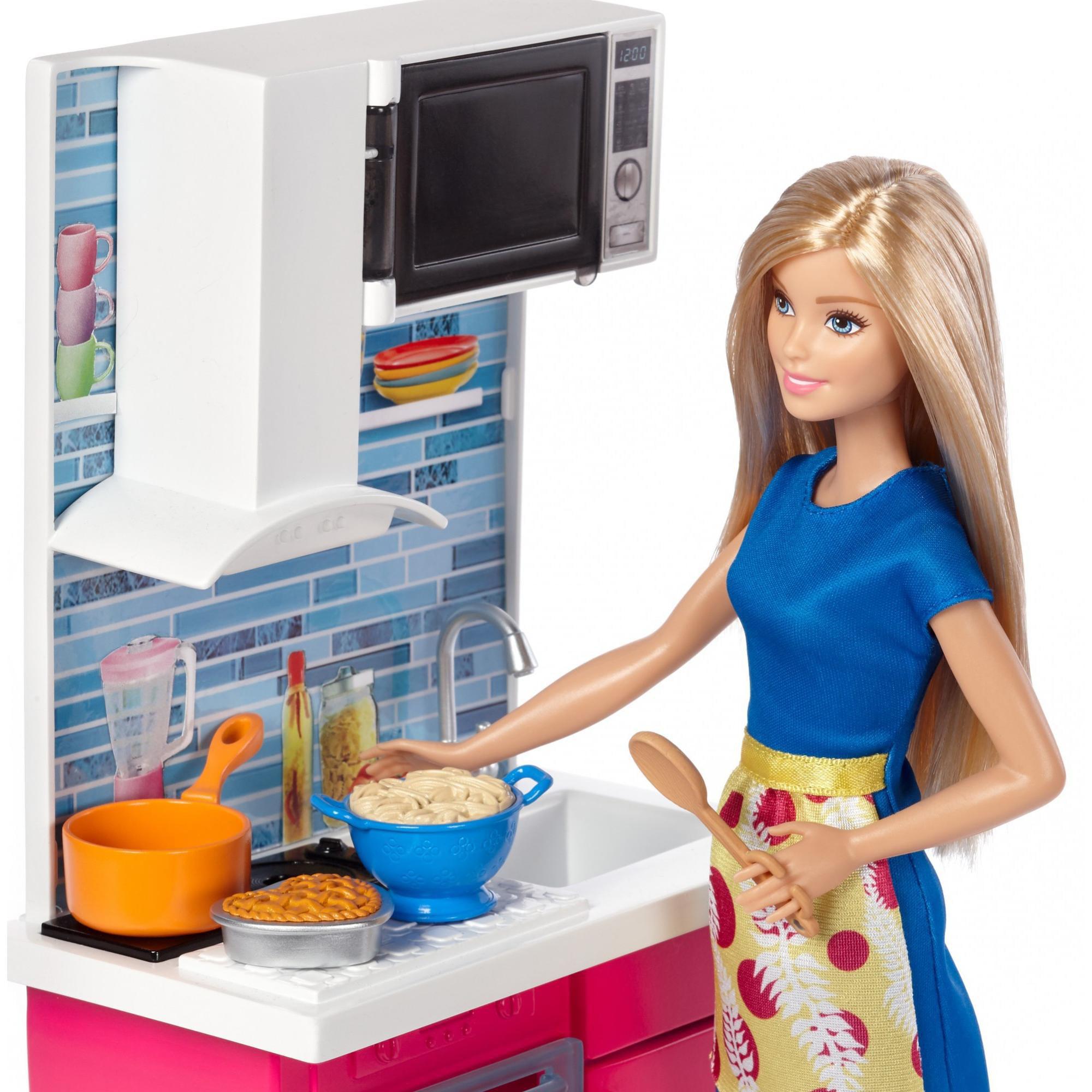 Barbie Doll Kitchen Furniture Walmart Com