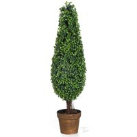 A&B Home Artificial Boxwood Tree, 35-Inch