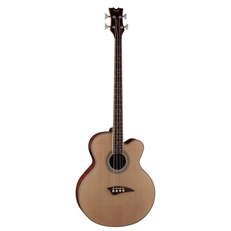 String Electric Bass Natural (Dean 4 String Acoustic/Electric Bass, Dean Electronics, Spruce Top/Natural,)