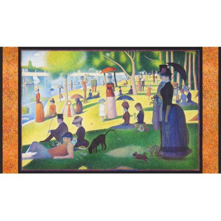 Robert Kaufman George Seurat Park A Walk in the Park (George Fabric)