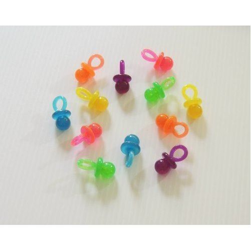 """Large Acrylic Pacifiers Bird Toy Parts 1 3/4"""""""