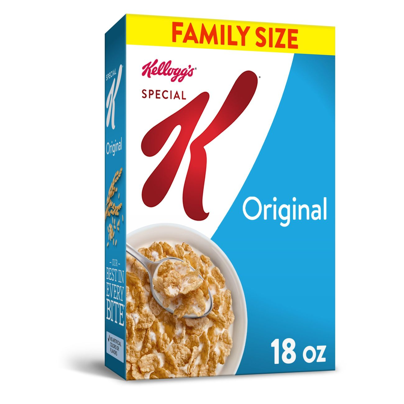 Kellogg's Special K Breakfast Cereal Value Size 18 Oz