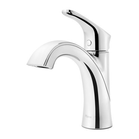 Pfister Portland 1-Handle Kitchen Faucet with Side Spray in Stainless (Price Pfister Stainless Steel Spray Faucet)