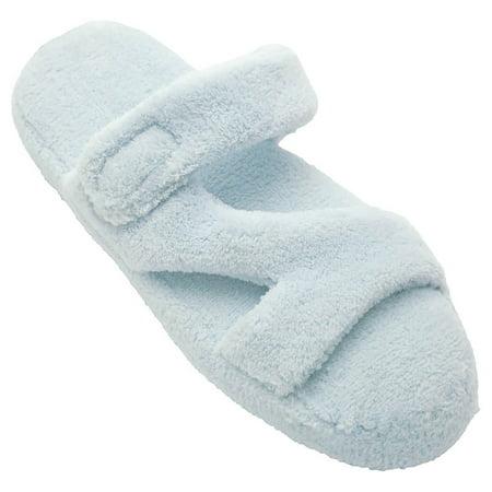 Dawgs Women's Fluffy Memory Foam Spa Bath Z Slippers Tiger Size 9-10 iw0Vwf