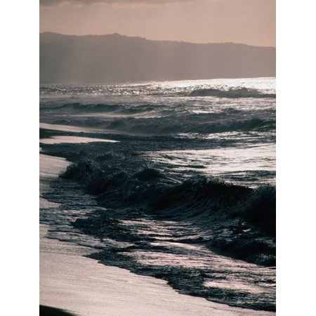 Surfing Territory: Sunset Beach on the North Shore, Oahu, Oahu, Hawaii, USA Print Wall Art By Lawrence