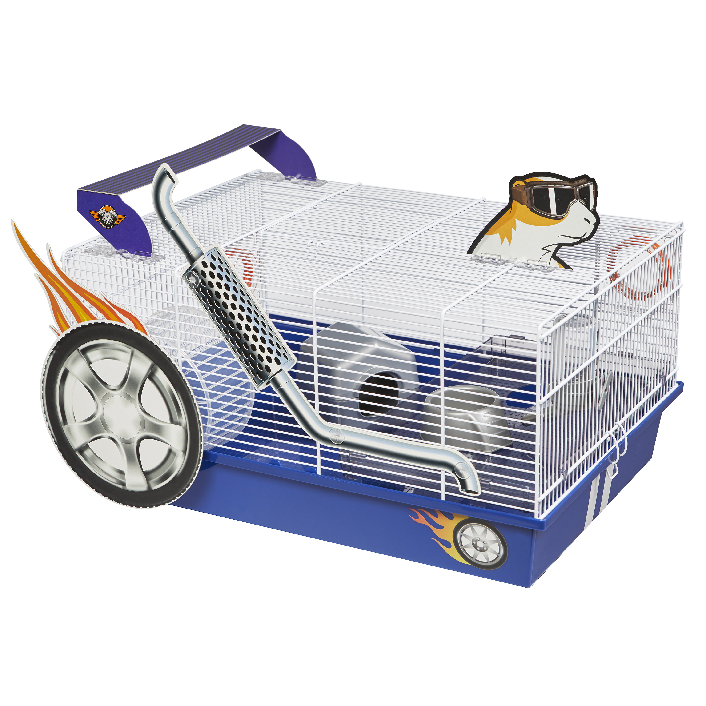 Midwest Hot Rod Hamster Cage