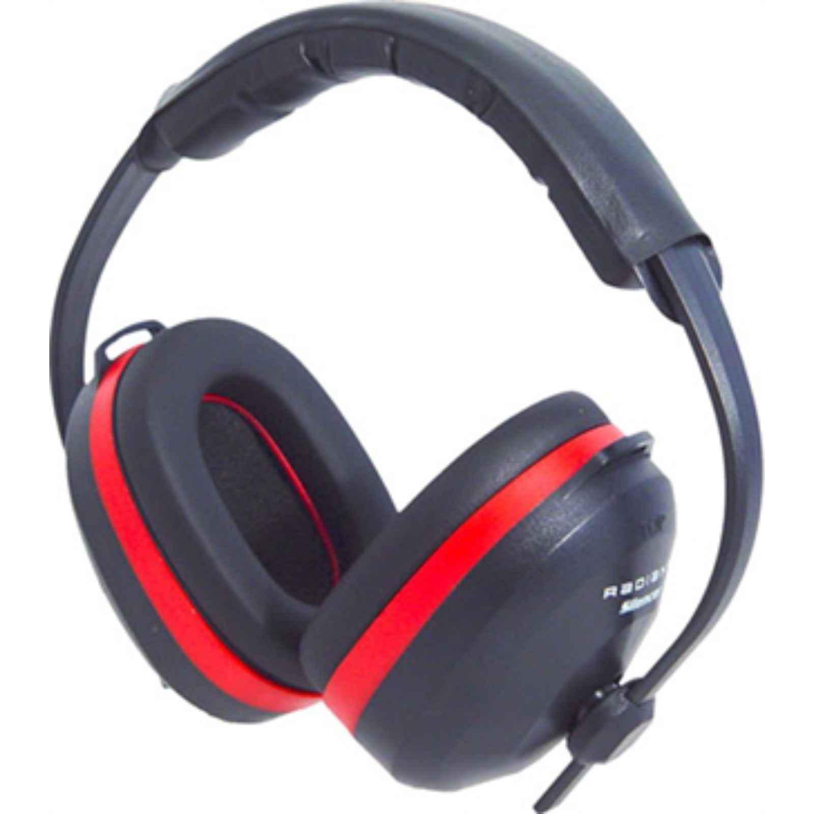 RADIANS SILENCER EARMUFFS NRR 26DB RED/BLACK