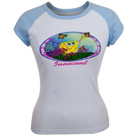 Spongebob Squarepants - Innocent Juniors Cap Sleeve - Spongebob Hat
