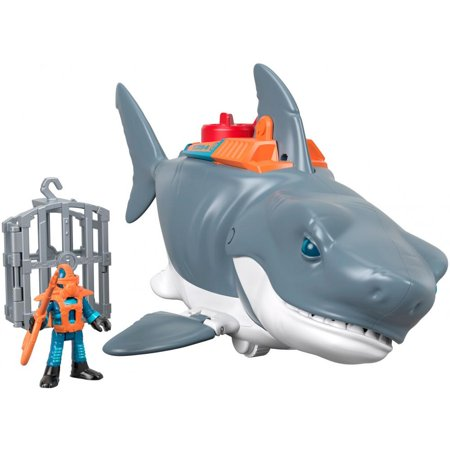 Imaginext Mega Bite Shark with Chomping Action