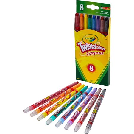 (3 Pack) Crayola 8 Count Twistable - Twistables Crayons