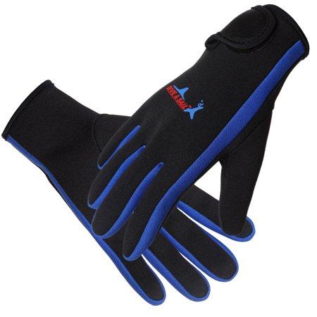 1.5 mm Premium Neoprene Gloves Scuba Diving Surfing Five Finger Gloves for Men