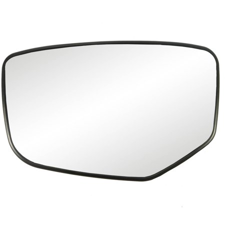 33215 - Fit System 08-12 Honda Accord Heated Replacement Mirror Glass with backing plate, Driver Side - check description for fitment Honda Accord Driver Side Mirror