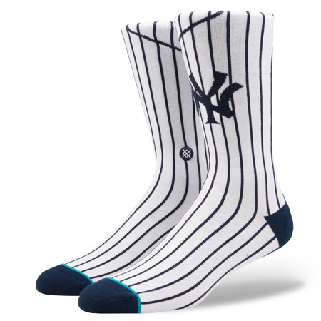Stance New York Yankees Home White Socks - image 3 of 3