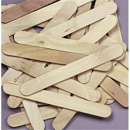 Creativity Street Wooden Craft Sticks, 6