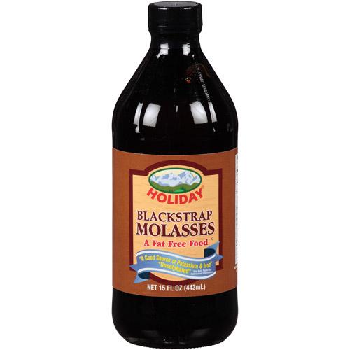 Holiday Blackstrap Molasses, 15 fl oz, (Pack of 12)