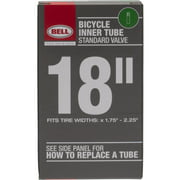 """Bell Standard Schrader Replacement Bicycle Inner Tube, 18"""" x 1.75-2.25"""""""