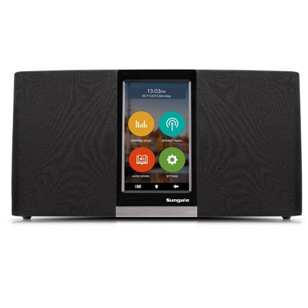 SungaleKWS433 Wi-Fi Internet Radio with User Friendly Touchscreen