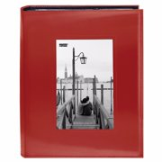 Pioneer FRM-246 Sewn Frame Photo Album (Red 2-Pack)