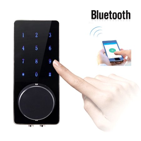Smart Door Lock Keyless Home Security Phone Touch Password (Best August Smart Locks)