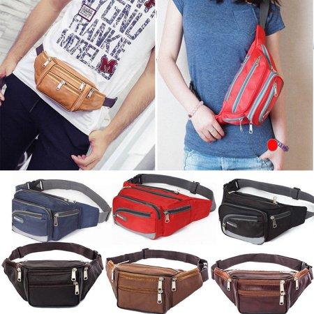 Waterproof Waist Fanny Pack Belt Bag Pouch Travel Sport Hip Purse Men Women