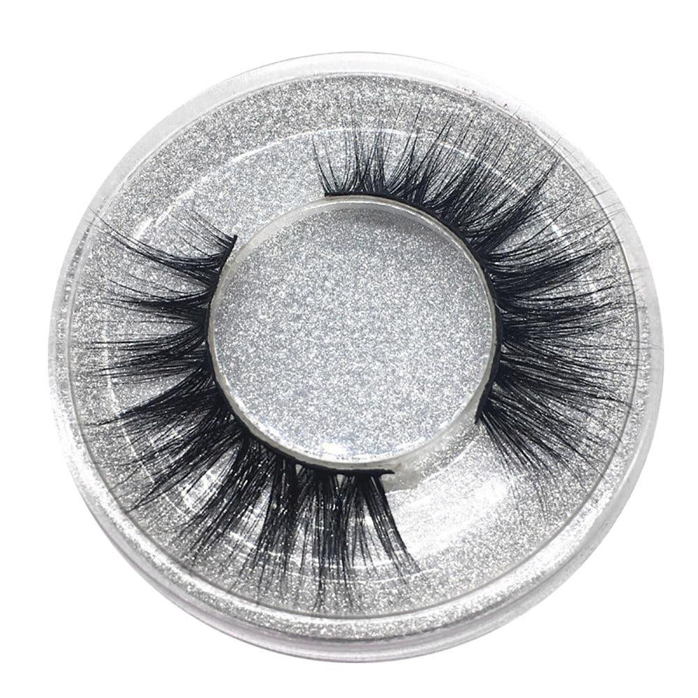 Tuscom 1Pair Luxury 3D False Lashes Fluffy Strip Eyelashes Long Natural Party