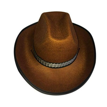Adult Cowboy Brown Hat By Dress Up America