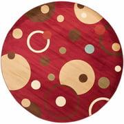 Safavieh Porcello Alexander Abstract Circles Area Rug or Runner