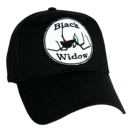 Black Widow Spider Hat Baseball Cap Alternative Clothing Horror Sci Fi Halloween