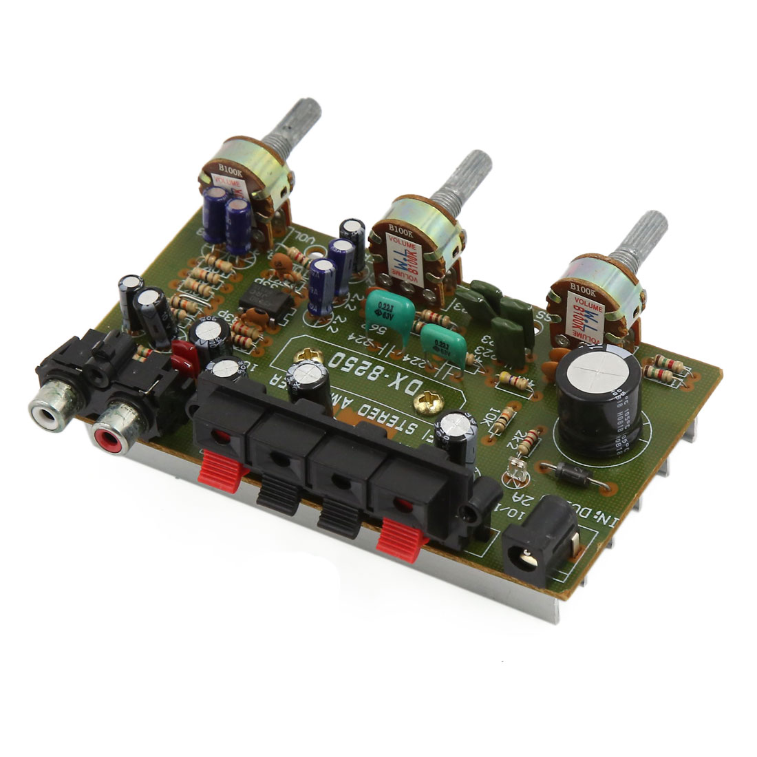 Unique Bargains DC12V LFE Subwoofer Audio Hi-Fi 4 Channel Car Boat Stereo Power Amplifier Board
