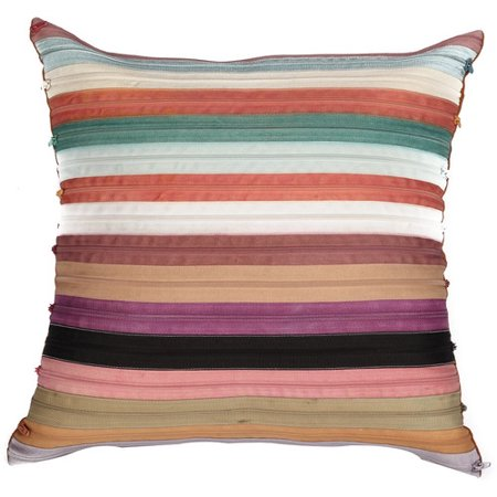 A1 Home Collections LLC Potpourri Zippered Cotton Throw Pillow